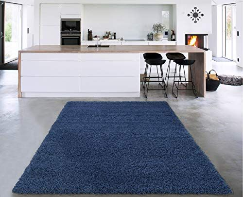 Buy Sweet Home Stores Cozy2866 5x7 Area Rug 5 3 X 7 Navy Blue Online In 2020 At Home Store Sweet Home Area Rugs