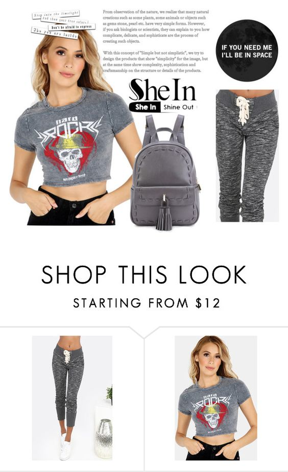 """""""Shein 5"""" by difen ❤ liked on Polyvore"""