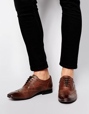 ASOS Oxford Brogues in Leather