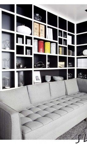 sarah lavoine storage designs pinterest design noir. Black Bedroom Furniture Sets. Home Design Ideas