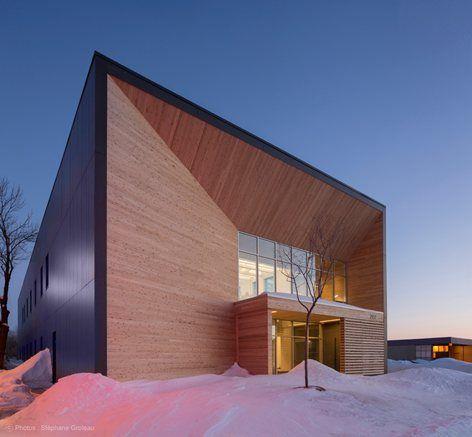 STGM Architects Head Office, Québec, 2015 - STGM Architects