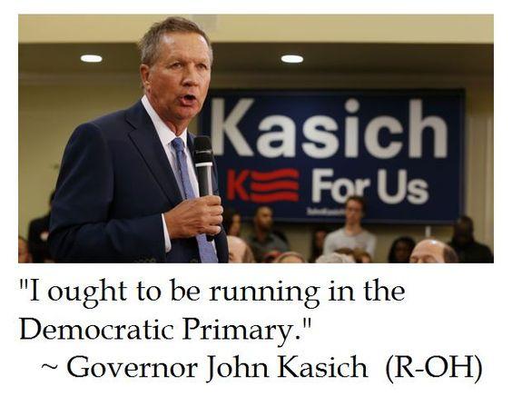 The District of Calamity: John Kasich on Politics