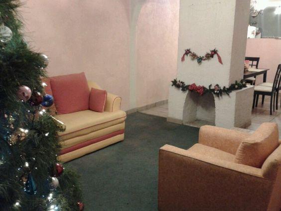 La sala navideña