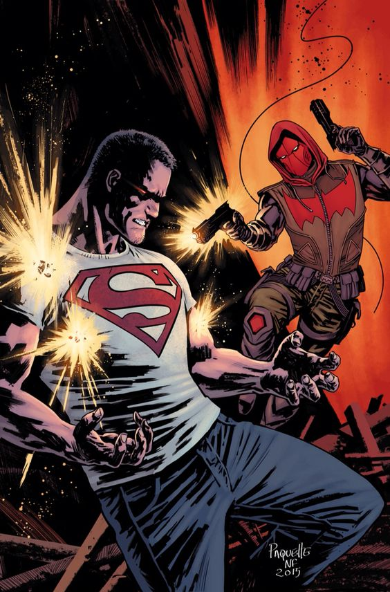 Red Hood vs Superman