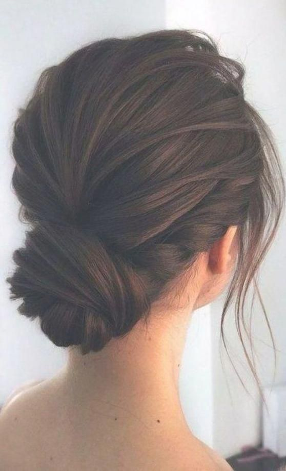 35 Awesome Low Bun Wedding Hairstyles Part 2 Lowsidebuns 35 Awesome Low Bun Hairstyle In 2020 Hair Styles Thick Hair Styles Bridesmaid Hair