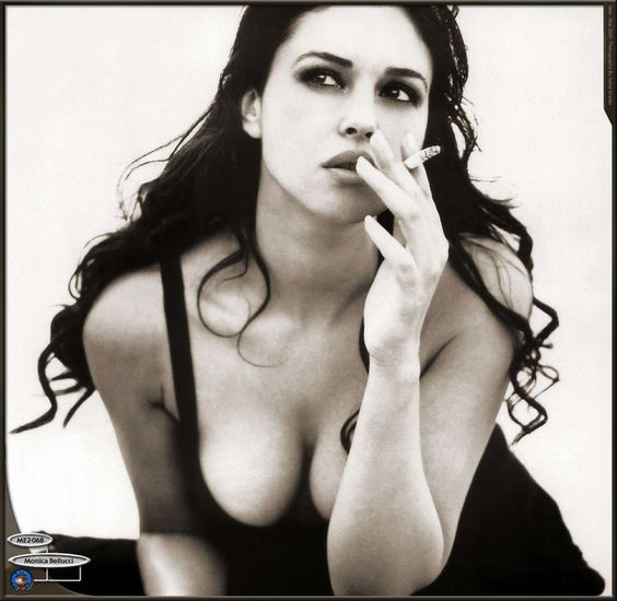 great and beautiful picture of Monica Belluci...