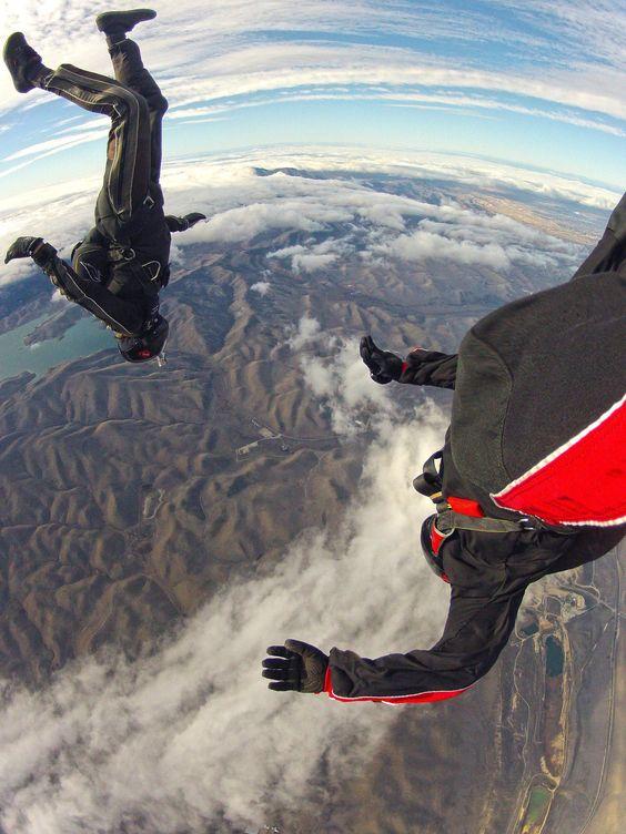 Look out below! Sweet shot from GoPro fan Guru Khalsa's foot mounted HERO!