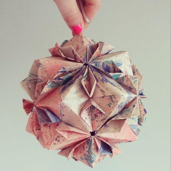 """NEW limited edition flowerballs NOW online /// #origamiest #limitededition #katieleamon"""