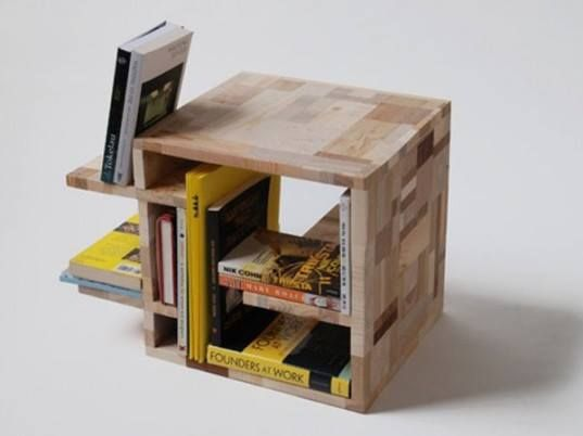 Ever tried to make a book case from left over wood and waste material at home???  Try this and keep your valuables safely.