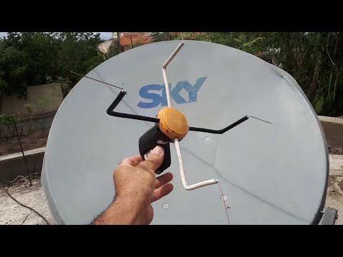 La Unica Antenas Para Tv Digital Abierta ꙭ Modificando Un Lnb Universal Youtube Antenas Para Tv Antena Casera Para Tv Antena Para Tv Digital
