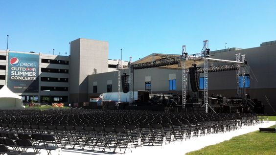 June 15, 2012 - The sun is shining and we are preparing for our first Outdoor Summer Concert! Northern Quest Resort & Casino, Spokane, WA