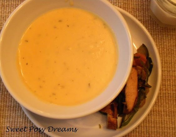 Get Well Potato Cheese Soup