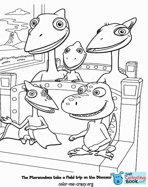 Dinosaur Train Coloring Pages Coloring Pages Train Coloring