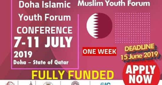 Doha Islamic Youth Forum 2021 Conference In Qatar Fully Funded Call For Applications Writing Competition Essay Writing Competition Spelling And Handwriting