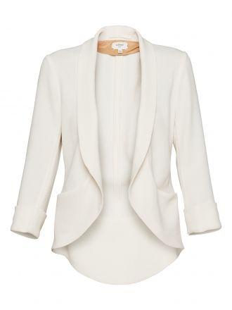 Wilfred white blazer