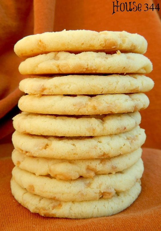 Butter Toffee Cookies ... click to see