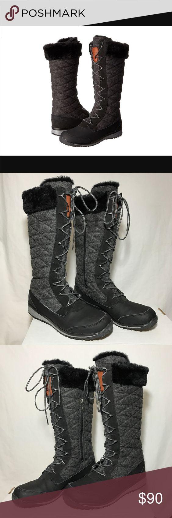 Salomon Hime High Snow Boots, Size 9