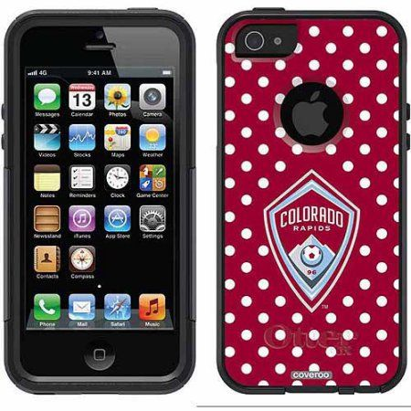 Colorado Rapids Polka Dots Design on OtterBox Commuter Series Case for Apple iPhone 5SE/5s/5