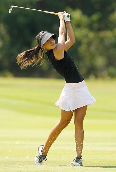 Veronica Felibert, iron shot, LPGA Tour Beauties Photos | GOLF.com