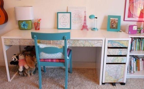 """Ikea Schminktisch Schreibtisch ~ Über 1 000 Ideen zu """"Decoupage Schreibtisch auf Pinterest"""