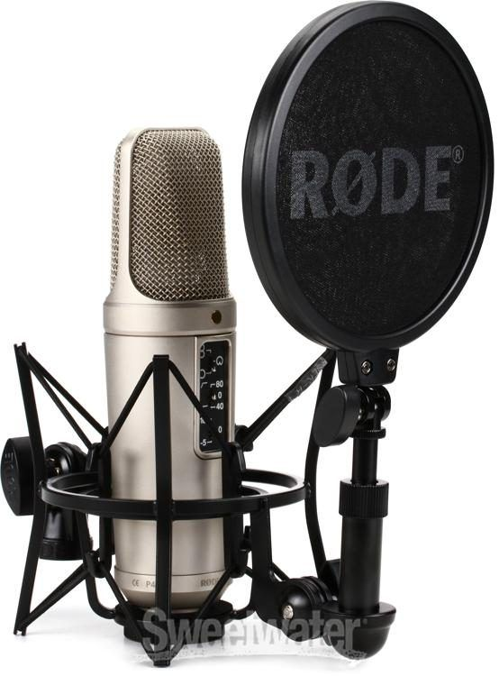 Rode Nt2 A Large Diaphragm Condenser Microphone Microphone Rode Microphone Microphone For Sale