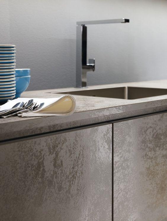 Alno Kitchens - ALNOSTAR CERA GREY MASCULIN KITCHEN IDEA - alno küchen fronten