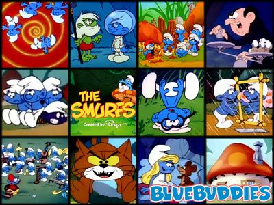 The Smurfs was the best Saturday morning cartoon.