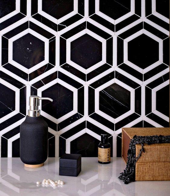 Những mẫu gạch lát nền đen trắng đẹp nhất 2021-03