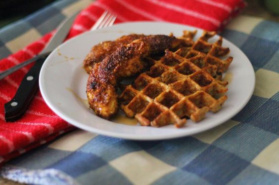 Quarter Life (Crisis) Cuisine: Welcome to Brunch Week -- Paleo Chicken & Waffles