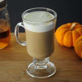 Pumpkin Spiced Spiked Coffee (made with Pumpkin Pie-Spiced Infused Vodka)