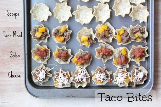Taco Bites Taco Bites (or Tiny Tacos)