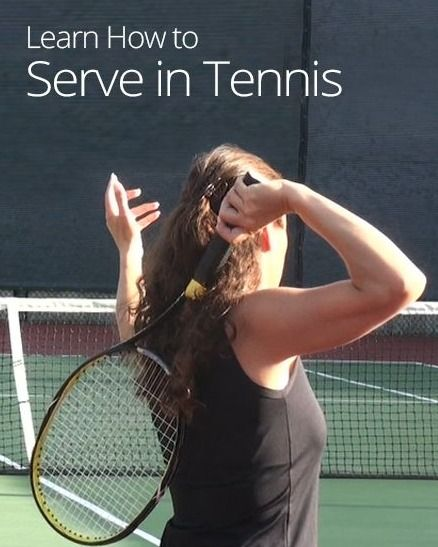How to Serve in #Tennis: 7 Steps to a Perfect Serve.
