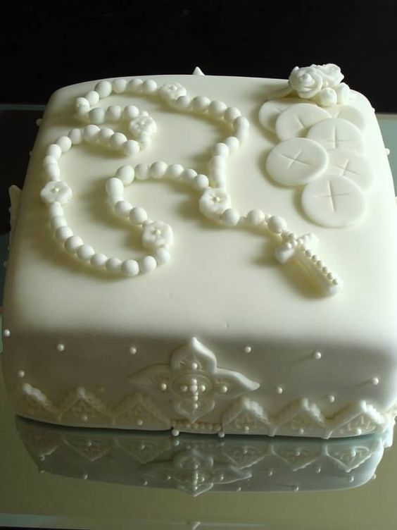 First communion cakes, Communion cakes and First communion ...