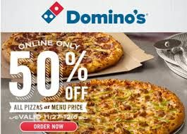 Domino S Coupons Offers Today 35 Off Upto 75 Kd Cashback Today S Domino S Pizza Best Offers Upto Rs 100 Cashback When Yo Pizza Promo Good Pizza Domino