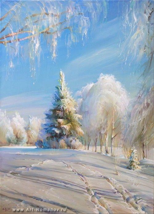 пейзаж Романа Романова -15