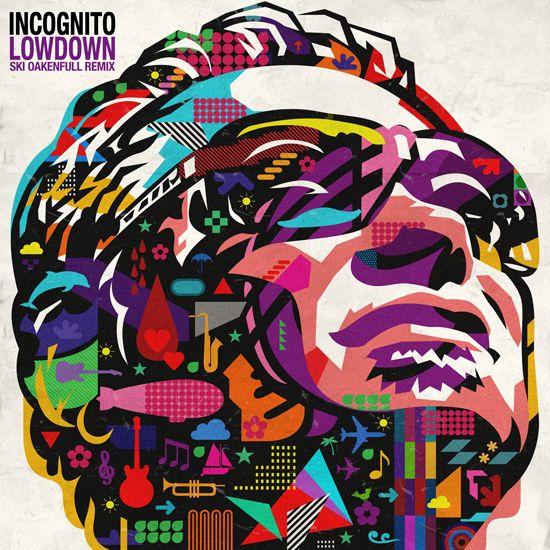 Lowdown By Incognito Album Cover Design Album Cover Art Cool Album Covers