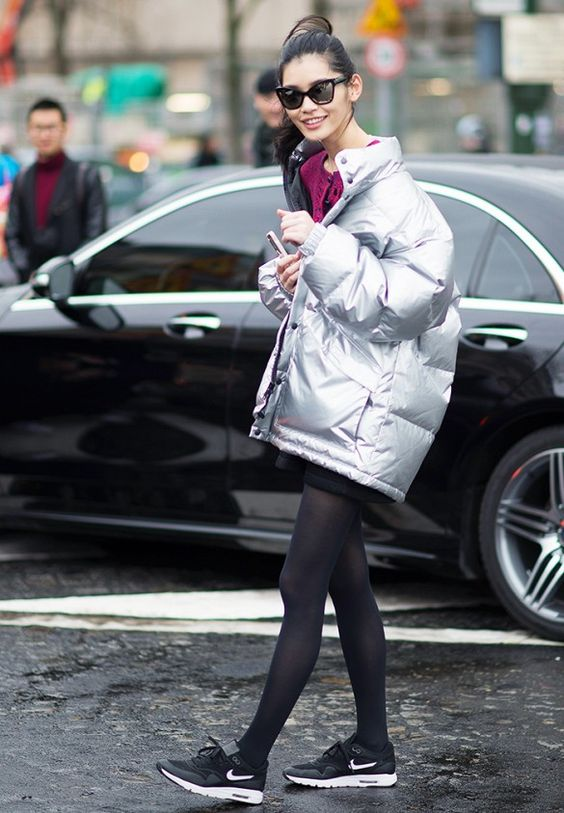 Meet The Supermodel With the Best Sporty Style via @WhoWhatWear