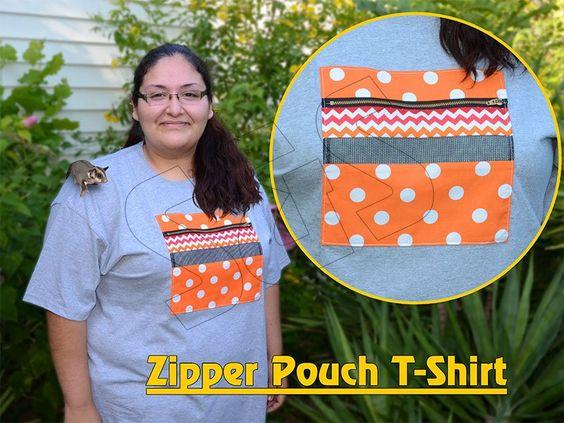 Zipper Pouch T-Shirt