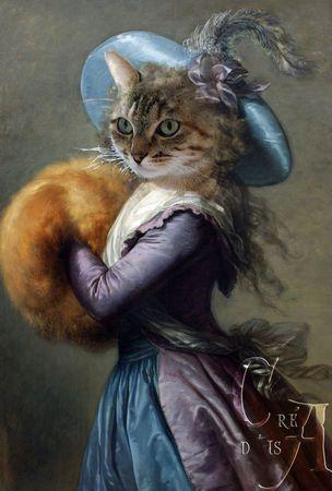 """Résultat de recherche d'images pour """"chat tableau celebre"""""""