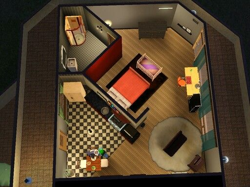 Where are the tiny apartments? (pics) — The Sims Forums