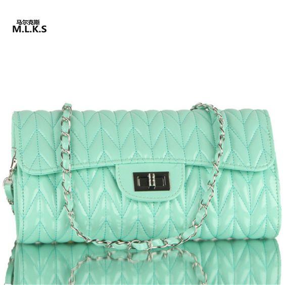 $23.87 (Buy here: https://alitems.com/g/1e8d114494ebda23ff8b16525dc3e8/?i=5&ulp=https%3A%2F%2Fwww.aliexpress.com%2Fitem%2FLady-Cover-Bag-Diamond-Lattice-Lady-Bag-Flap-Pocket-Girl-Shoulder-Crossbody-Envelope-BagRJX-14%2F32653658935.html ) M.L.K.S Brand Solid Modern Lady Cover Bag Diamond Lattice Lady Bag Flap Pocket Girl Shoulder  Crossbody Envelope BagRJX-14 for just $23.87