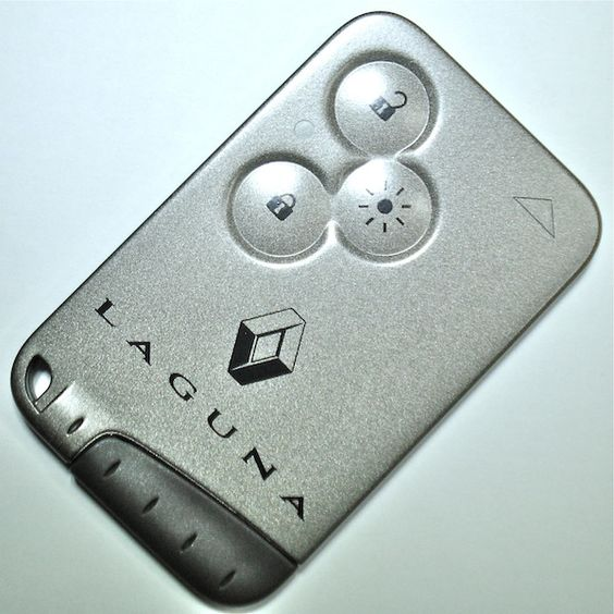 renault laguna hands free key card from autotechnix car. Black Bedroom Furniture Sets. Home Design Ideas