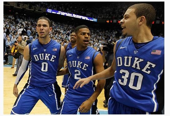 new style 65468 3b27b Austin Rivers, Quinn Cook and Seth Curry | Duke Basketball ...