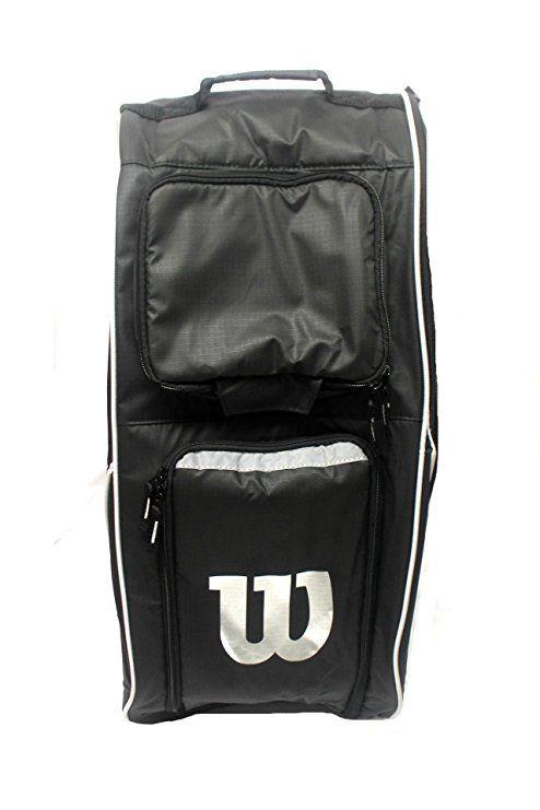 Amazon Com Wilson Football Player Bag Black 12 L X 14 W X 24 H Sports Outdoors Wilson Football Football Equipment Football Players