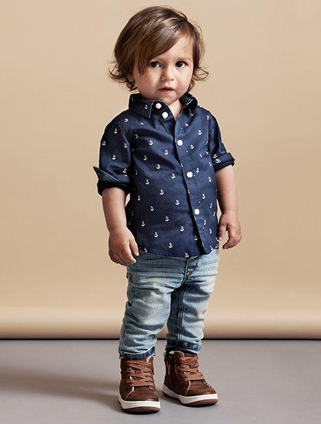 Kids | Baby Boy Size 4-24m | Shirts | H&M US