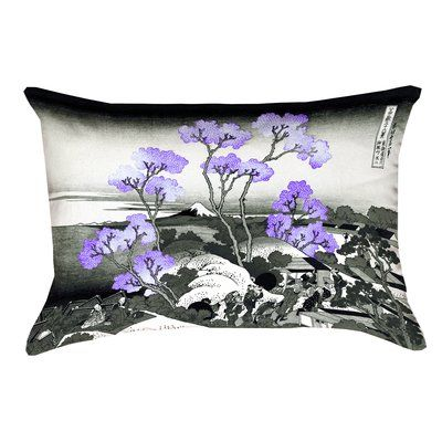 Buy FLORAL FANCY Rectangular Pillow by