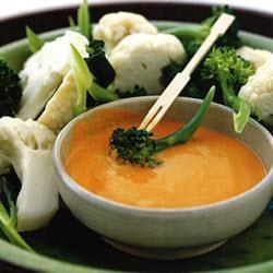 Broccoli en bloemkool met romige saus