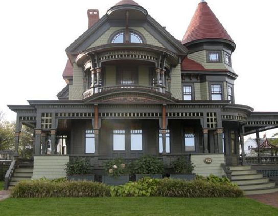 Big Victorian Mansions For Sale Restored Victorian Style