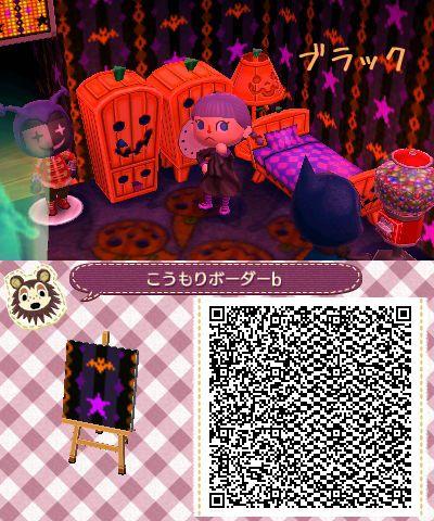 Spooky patterns | Animal Crossing: New Leaf QR Codes | Pinterest ...