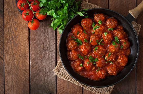 Rezept der Woche: Hackfleischbällchen in Tomatensauce